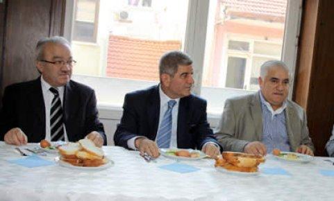 Bartın TSO üyeleri Emniyet Müdürü'yle kahvaltıda