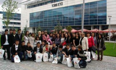 Bartın TSO'dan öğrencilere TOBB ETÜ Gezisi