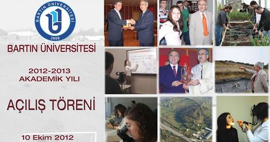 Bartın Üniversitesi Açılış Töreni 10 Ekim'de