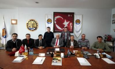 Bartın Üniversitesi akademisyenlerinden TSO'ya ziyaret