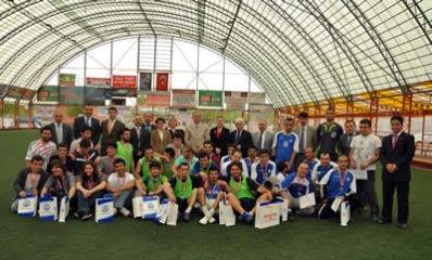 Bartın Üniversitesi Halı saha futbol turnuvası sona erdi