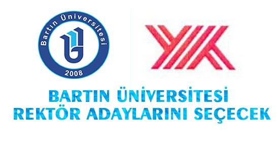 Bartın Üniversitesi Rektör adayları için seçim yapacak
