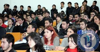 Bartın Üniversitesi Turizm Kulubünden staj etkinliği