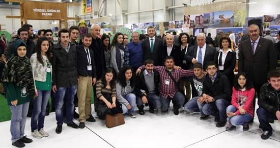 Bartın Üniversitesi Turizm MYO öğrencileri EMITT fuarında