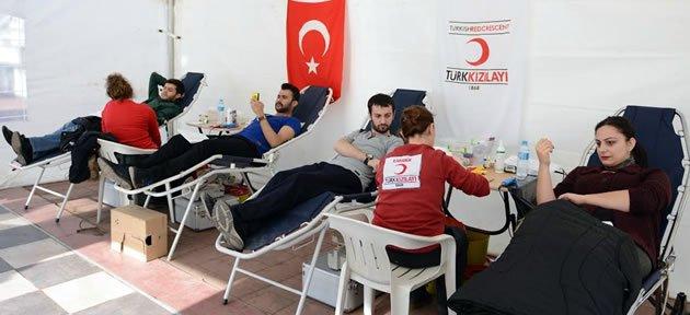 Bartın Üniversitesi'nden Kan Bağışına Destek