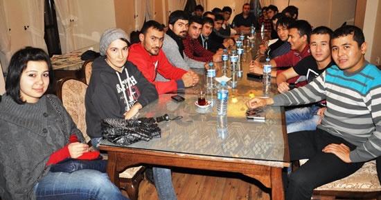 Bartın Üniversitesitesi'ndeki Türki öğrenciler bir araya geldi