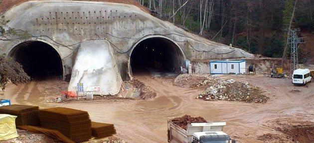 Bartın'a 25 Kilometre Tünel