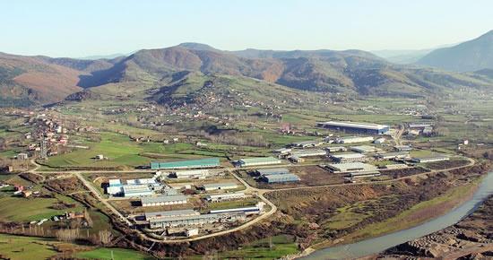 Bartın'a 400 hektarlık yeni OSB alanı