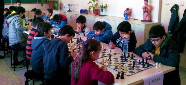 Bartın'da Çocuk Satranç Ligi Kuruldu