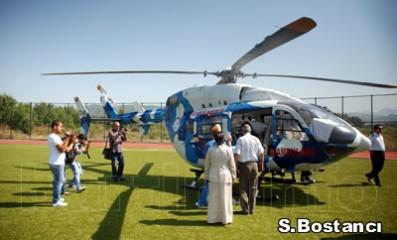 Bartın'da heliport krizi