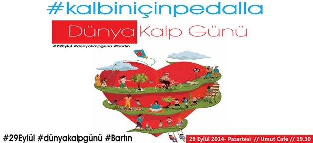 Bartın'da #KalbinİçinPedalla Etkinliği