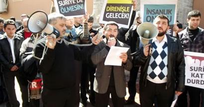 Bartın'da Suriye Halkının Direnişine Destek Eylemi