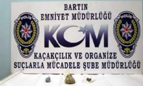 Bartın'da uyuşturucu operasyonu: 2 Gözaltı