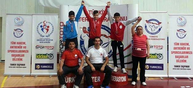 Bartınlı Halterci Türkiye Şampiyonu Oldu