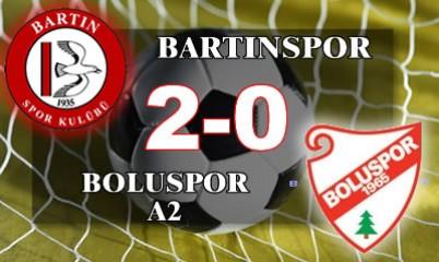 Bartınspor: 2 - Boluspor: 0