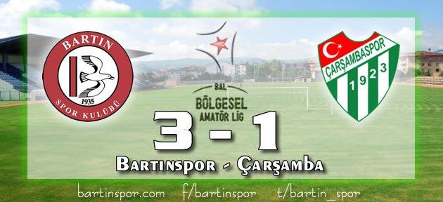Bartınspor Çarşamba'yı Puansız Uğurladı: 3-1
