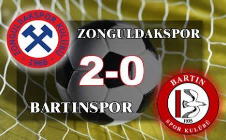 Bartınspor, Zonguldak'a boyun eğdi:2-0
