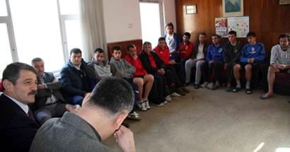 Bartınspor'a moral ziyareti