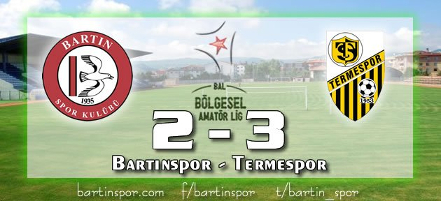 Bartınspor'da Hayaller Tükeniyor: 2-3