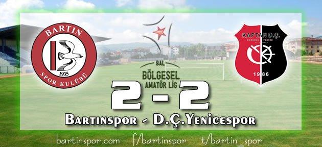 Bartınspor'da Umutlar Tükeniyor: 2-2