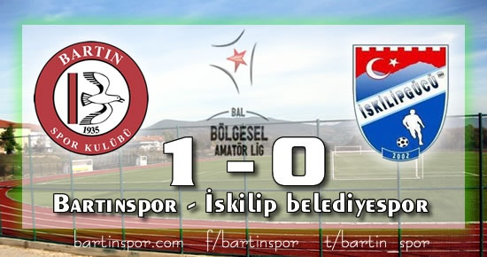 Bartınspor'dan tek vuruş: 1-0
