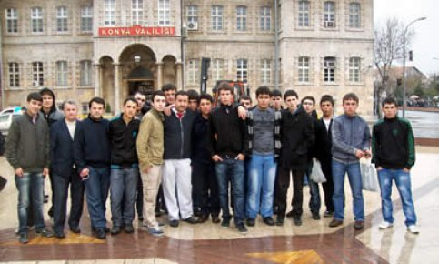Başarılı öğrenciler Konya'da