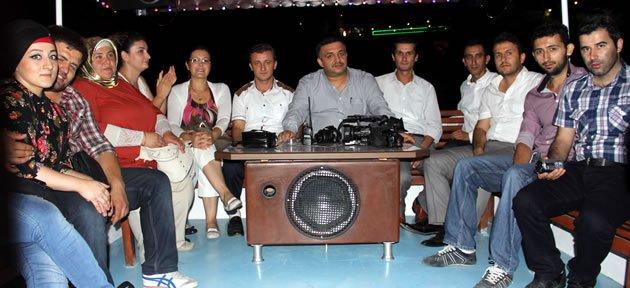 Basın Bayramını İftar ve Tekne Turuyla Kutladılar