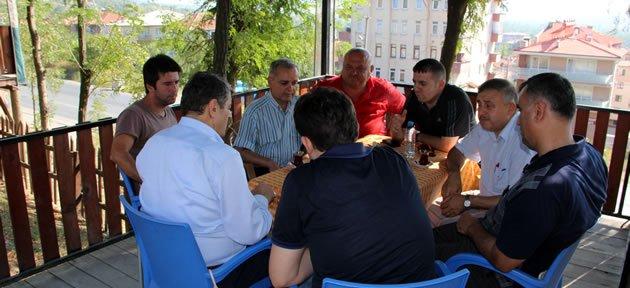 Başkan Akın Bartınspor yöneticileriyle buluştu