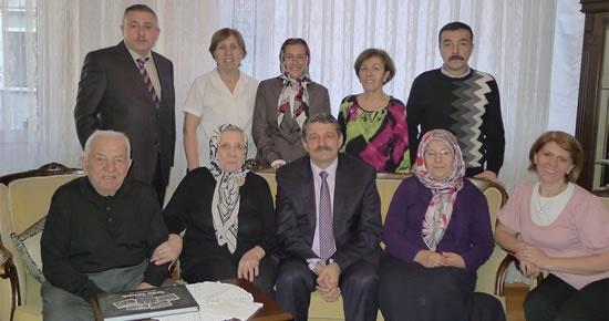 Başkan Akın, Başoğlu Ailesi'nde