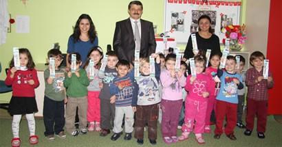 Başkan Akın Çocuklarla