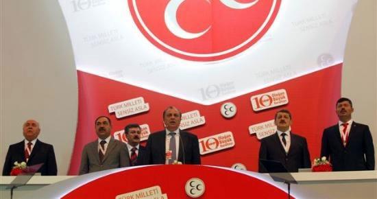 Başkan Akın, MHP Kongresi'nde Divan'a seçildi