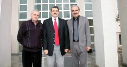 Başkan Akın Sanko Çimento fabrikasını ziyaret etti
