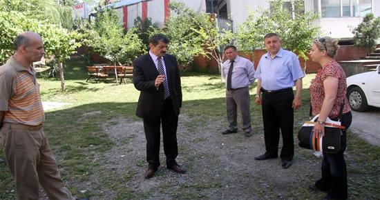 Başkan Akın, yeni parklar için yer tespitinde