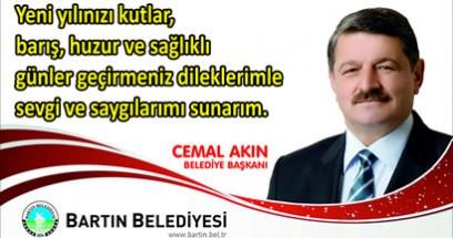 Başkan Akın'dan  yeni yıl mesajı