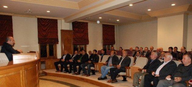 Başkan Arslan, Stk Ve Muhtarlarla Bir Araya Geldi