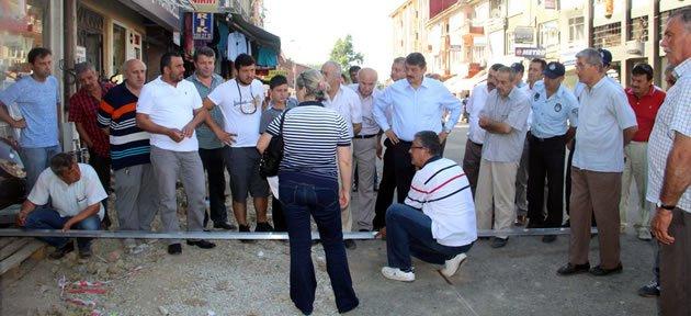 Başkan Davut Fırıncıoğlu Caddesi'nde