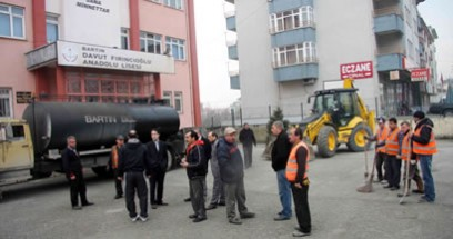 Başkan Davut Fırıncıoğlu Lisesi için seferber oldu