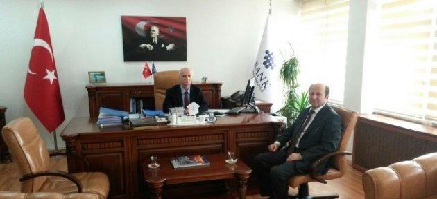 Başkan Erdoğan'dan İller Bankası Bölge Müdürü Aktaş'a Ziyaret