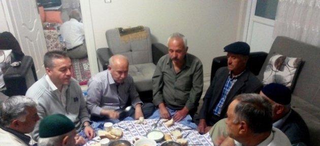 Başkan Karaman, Her Akşam Halk Sofralarında