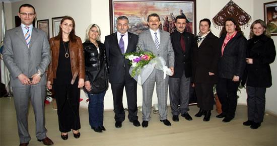 Başkan'a İstiklal İlköğretim Okulu'ndan ziyaret