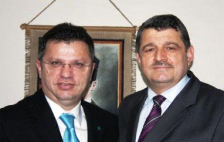 Başkan'dan Akman'a ziyaret