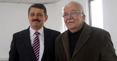 Başkan'dan Eski Başkan'a ziyaret
