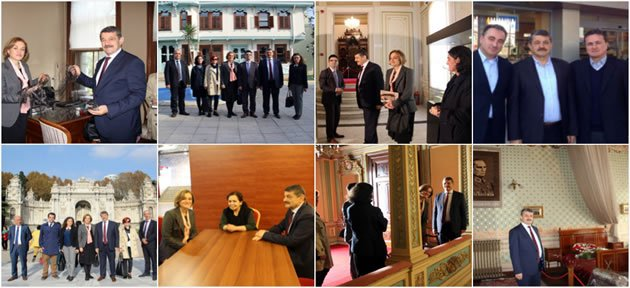 Başkan'dan İstanbul ve Ankara'da Ziyaretler