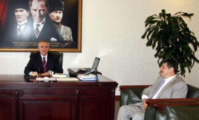 Başkan'dan Vali'ye hayırlı olsun ziyareti