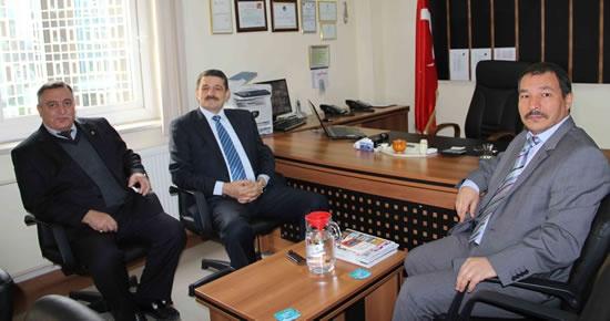 Başkan'dan Yurtkur'a ziyaret