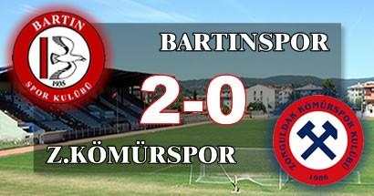 Batı Karadeniz Derbisi Bartınspor'un: 2-0