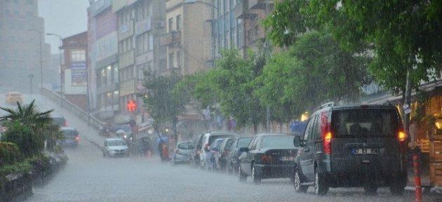 Batı Karadeniz'de Kuvvetli Yağış Alarmı