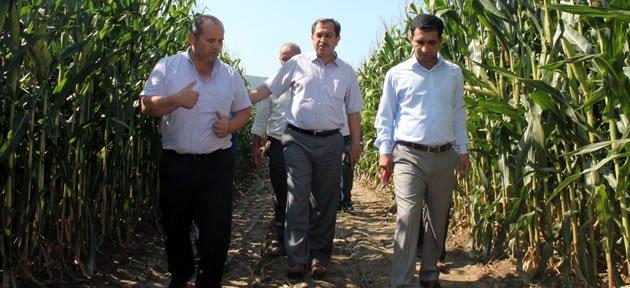 Bayram'dan tarımsal işletmelere ziyaret