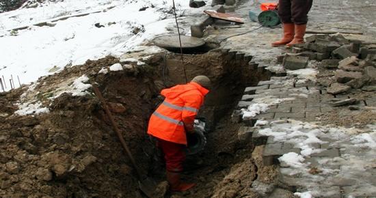 Belediye alt yapı çalışmalarına hız verdi