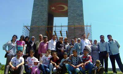 Belediye çalışanlarına Çanakkale gezisi
